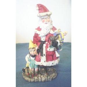 Joulupukki Finland Santa Resin Figurine 4.75 In EC